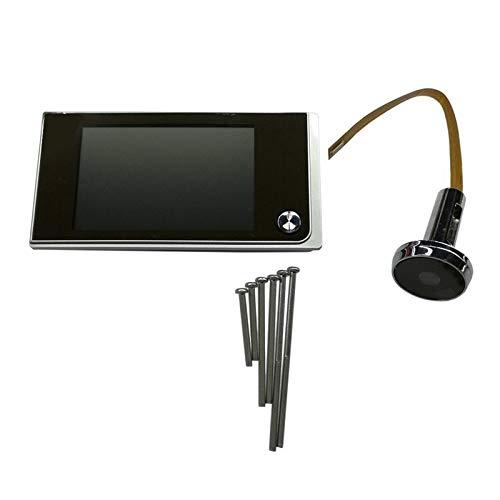 Sbeautli Inicio de cámara Multifuncional de 3.5 Pulgadas TFT LCD a Color Digital de la Puerta del Timbre del Espectador Fácil Instalación