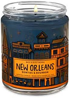 Bath & Body Works New Orleans Bowties & Bourbon 7oz Single Wick Candle