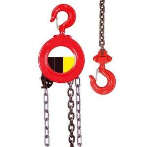 Polipasto manual de cadena cabrestante 3metros de cadena capacidad 1 tonelada