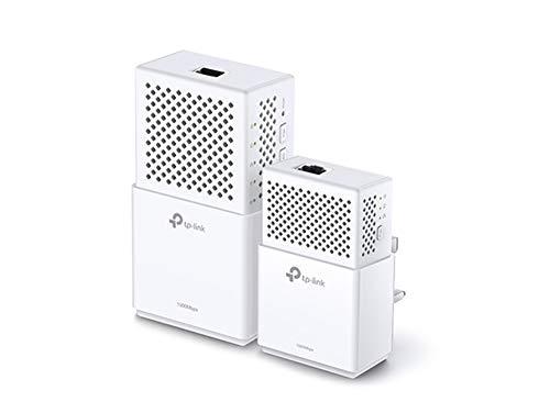 TP-Link TL-WPA7510KIT Dual Band Gigabit AC750 Powerline Adapter Starter Kit, Range Extender,...