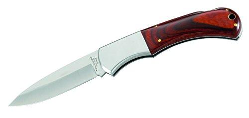 Herbertz Taschenmesser, rostfrei, Heftlänge 12 cm Messer, grau, M