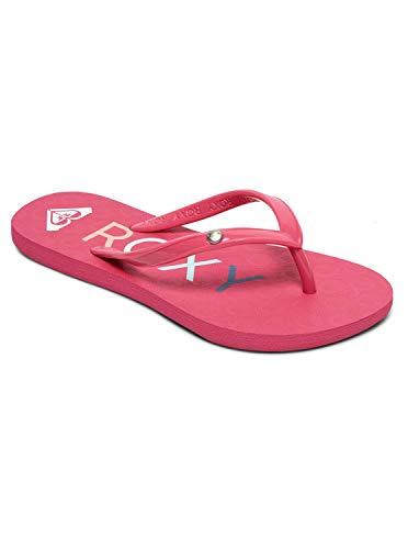 Roxy RG Sandy, Zapatos de Playa y Piscina para Niñas, Rosa Pink Pip, 33 EU