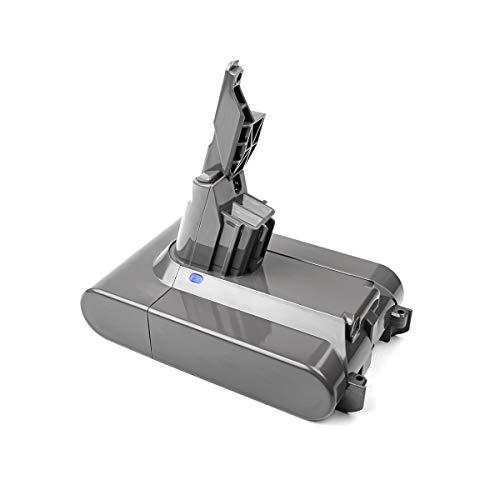 TURPOW V7 - Batería de litio de 21,6 V 6000 mAh para aspiradora de mano V7 Series Animal compatible con Dyson V7 Motorhead Pro Dyson V7 Trigger Dyson V7 Car+Boat 214730-01