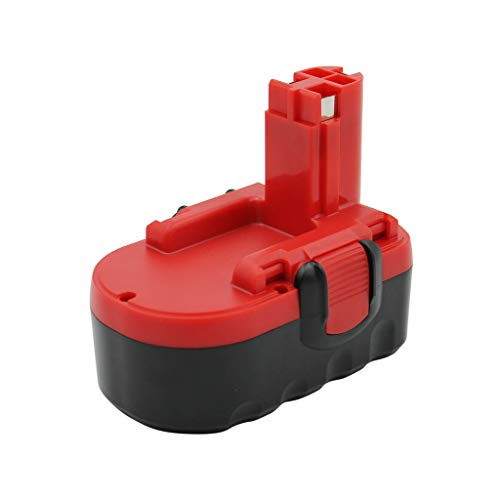 KINSUN Replacement Power Tool Battery 18V 1.5Ah for Bosch Drill 2 607 335 266 2 607 335 278 2 607 335 535 2 607 335 536 2 607 335 680 2 607 335 688 2 607 335 696 2 610 909 020 GKS 18V GSR 18V