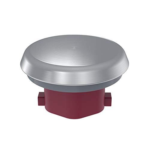 WunderCap, alternativa al copri-lame, ideale per la preparazione di alimenti delicati, offre il 20% in più di volume nel contenitore miscelatore, in acciaio inox di alta qualità