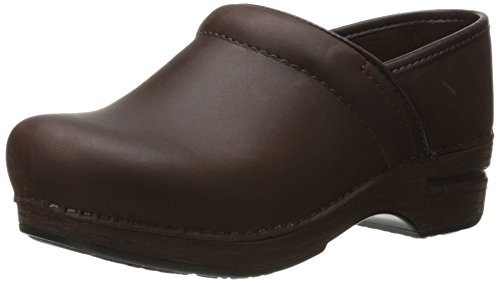 Dansko Women's Pro XP Brown Oiled Clog 6.5-7 M US