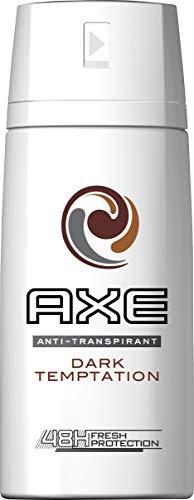 Desodorante Axe Men Dark Temptation Dry para hombre, 3 unidades, 150 ml