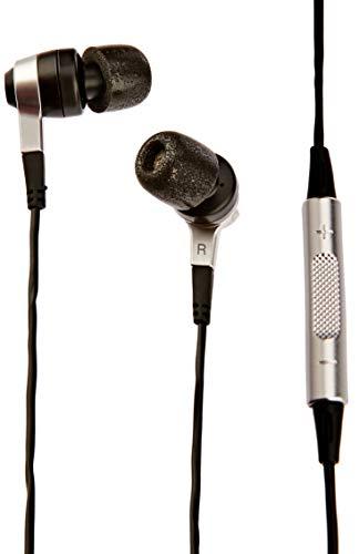 Denon AHC620RBKEM In-Ear Kopfhörer mit Metallgehäuse für Apple iPod/iPad/iPhone (12mm Treibergröße, OFC Kabel inkl. Geräuschdämpfung) schwarz