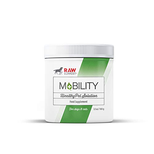 Raw Support Mobility 3.5oz, Measuring Spoon Included. 12 Supplement Options...