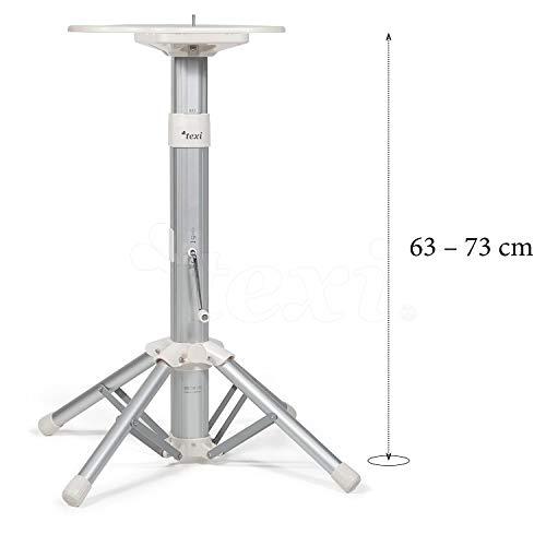 TEXI Estructura telescópica para Vapor–Apollo–Prensa de Planchado 68& 101–Altura Ajustable