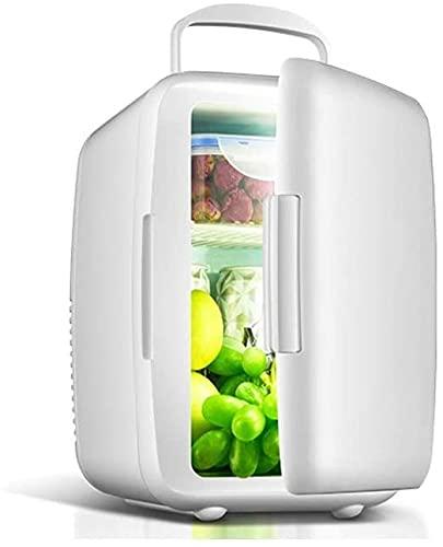 LXNQG Coche Mini Refrigerador, Hogar Pequeño Doble Refrigeración Mini Dormitorio Coche Dual Uso Dual Mundo Doble Double Puerta Mini Nevera-I Jianyou (Color: C) (Color : B)