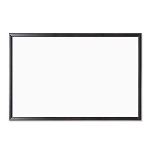 U Brands Magnetic Dry Erase Board, 23 x 35 Inches, Black Wood Frame (311U00-01)