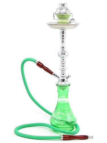 Groene Wortel Nieuwe Verkoop Waterpijp Glas Water vaas + Pijpen voor Shisha narguile Roken