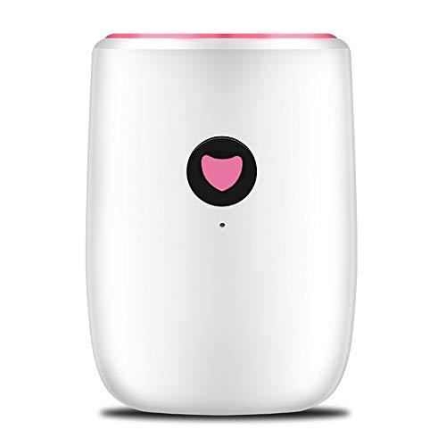 DEAR-JY Luftentfeuchter,800 ml tragbares energieeffizientes Gerät mit automatischer Abschaltung,Mini Luftentfeuchter für feuchte Feuchtigkeit in der Wohnküche Schlafzimmer Büro Badezimmer Keller
