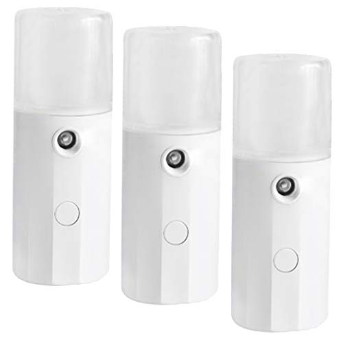 dailymall 3x USB Nano Facial Mister Cool Face Mist Sprayer Handy Face Hydratant