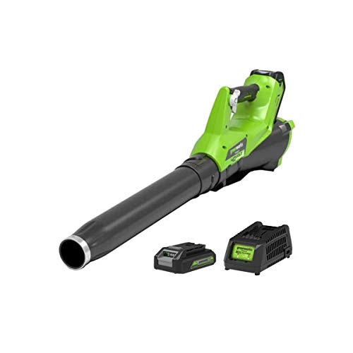 Greenworks 40V Cordless Axial Blower with 2Ah battery and universal charger - 2400807UA