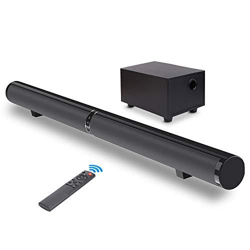 Barra de Sonido, Fityou Altavoz Inalámbrico Bluetooth para TV con...