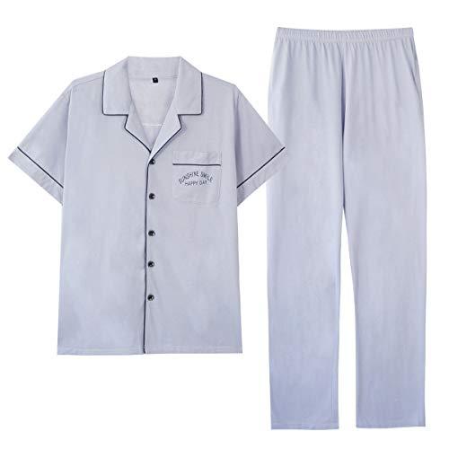 GOSO Pijama para Hombre Conjunto de algodón con Botones Rop