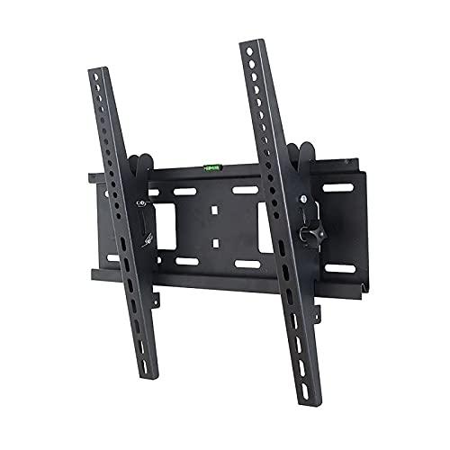 Soporte de Montaje en Pared inclinable para TV para la mayoría de televisores de Pantalla Plana OLED LCD LED de 32-65 Pulgadas, Perfil bajo, hasta VESA 400X400 y 100 LBS, Incluye Cable HDMI y Nivel