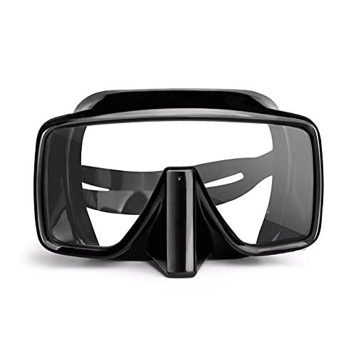 WJYZYHM Gafas de baño,Mascarilla de Buceo for Adultos Anti-Niebla de Silicona Silicona Submarino Scuba Gafas de natación HD Gafas de Buceo,for Adolescentes Adultos.