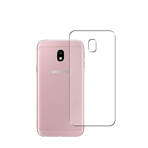 VacFun 2 Piezas Protector de pantalla Posterior, compatible con Samsung Galaxy J3 2017 / J3 PRO, Película de Trasera de TPU