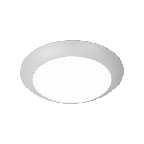 WAC Lighting FM-306-930-WT Contemporary Disc Energy Star LED Flush Mount 3000K Soft White in Large