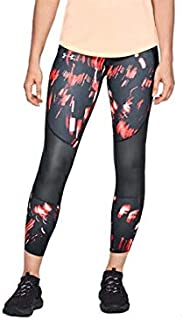 Under Armour Women'S Speed Pocket Printed Run Crop Bottom
