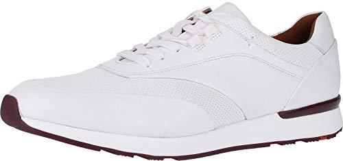 LLOYD Herren Arturo Sneaker, Weiß (White 1), 42 EU