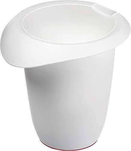 Westmark Quirltopf mit Ausgießer, Kunststoff, Füllvolumen: 1 Liter, Weiß, 3150227W