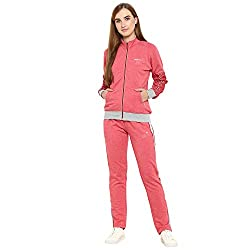 Monte Carlo Red Cotton Solid Tracksuits