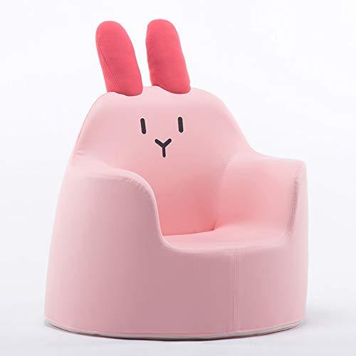 HAKN Sofa pour enfants, 1-8 ans Cartoon Baby Apprenez à vous asseoir Cute Small Seat Sponge Small Seat (Couleur : Pink, taille : B)