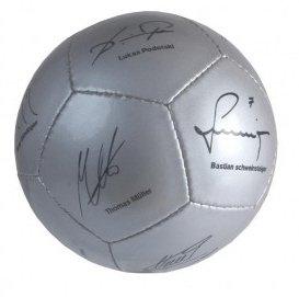 DFB Mini Fussball Unterschriften Nationalmannschaft aufgedruckt
