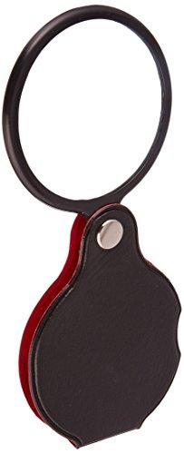 SE MF2055C - Lupa plegable de bolsillo, color negro