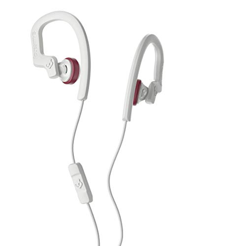 Skullcandy Chops Flex in-Ear Earbud - White/Crimson