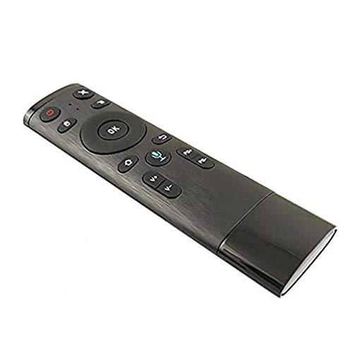 WEN Wireless Voice 2.4G Air Mouse Mini-Funk-Tastatur Universal-Fernbedienung Schwarz Bluetooth + Stimme