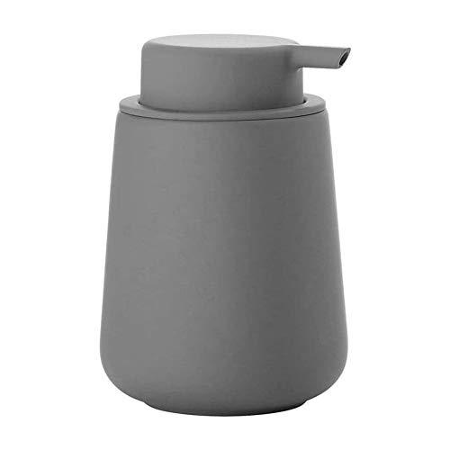 Distributore di Sapone,Sapone, Bottiglia Lozione del Dell'erogatore della Pompa Liquida,Sapone Liquido in Ceramica Pompa Bottiglie per Bagno Cucina,Uso negli Alberghi Bagni,grigio