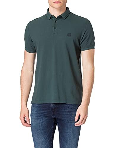 Esprit 031EE2K313 Camisa de Polo, 455/Teal Blue, XXXL para Hombre