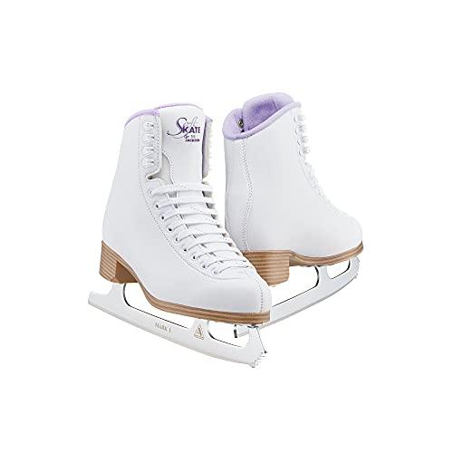 Jackson Classic Purple SoftSkate 380 Womens/Girls Ice Figure Skates - Girls Size 3.0