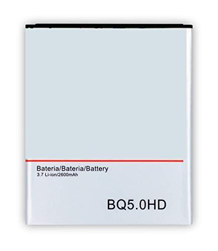 Bateria Compatible con BQ Aquaris 5 HD / 5.0 HD -2600mAh- BT-2600-259 -MÁXIMA Calidad