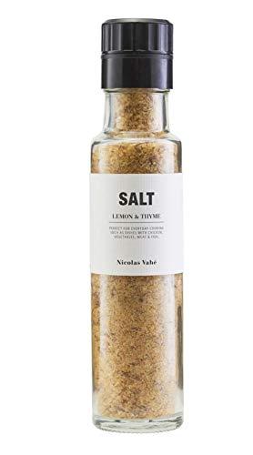 Nicolas Vahe - Salz mit Thymian / Zitronengeschmack - Glasmühle - 320 g