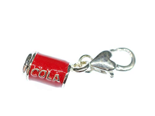 Miniblings Cola Coladose Charm Anhänger Bettelarmband Charms Limo Limonade rot