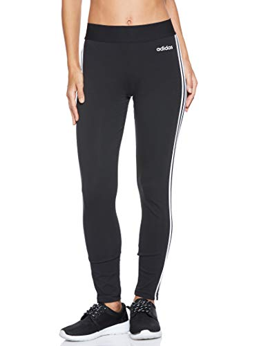 adidas Essentials 3 Bandas Tight Mallas, Mujer, Negro (Black