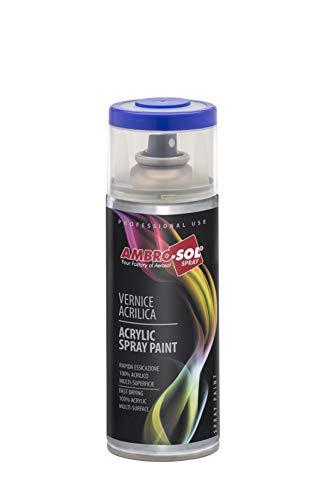 Ambro-Sol V4001023 Pintura acrílica, Amarillo tráfico, 400 ml