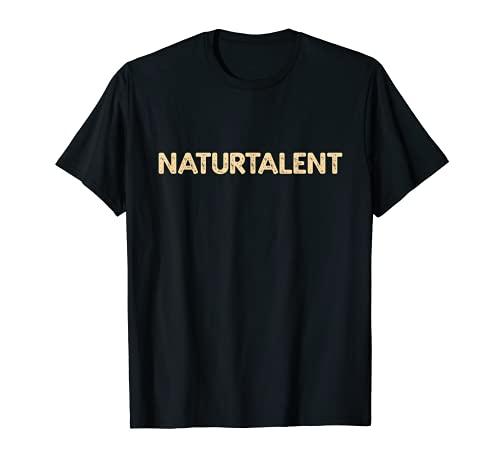 Naturtalent IQ Klug Schlau Talent - Reloj de pulsera Camiseta