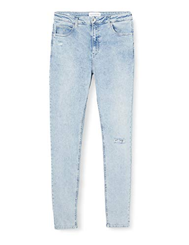 Calvin Klein Jeans Damen Ckj 010 High Rise Skinny Jeans, Blau (Da054 Bleach Blue Dstr 1Aa), 26W / 30L