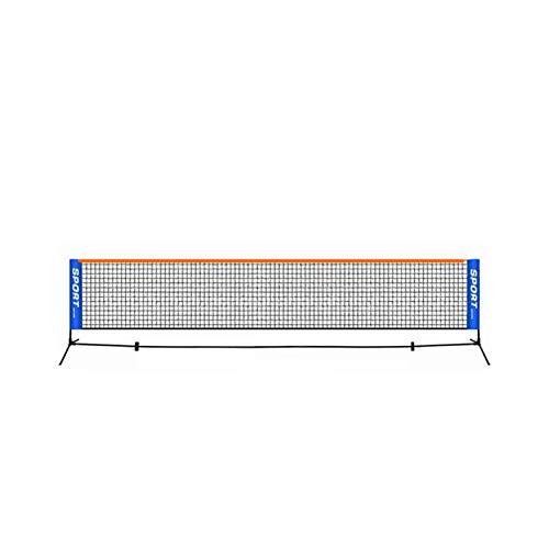 KKLL Portable Tennis Badminton Net Bracket Outdoor Sport Training Standard Indoor Foldable Tennis Bracket (Color : 6.1 M Bracket)
