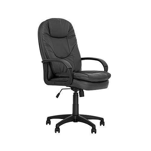 Silla experta Bonn – Sillón de dirección profesional – Asiento de oficina síncrono, ergonómico, multiposición, capacidad de carga de 145 kg, color negro