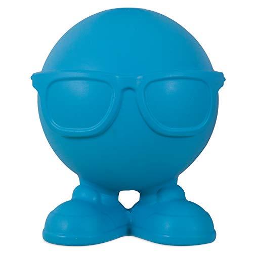 William Hunter JW Pet Hipster Cuz Assistant Toy Tough Squeaker Erratic Bounce Multicolor Large