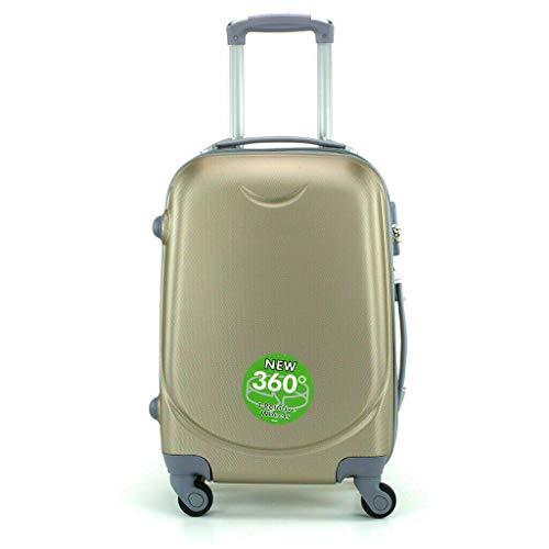 Maleta 4 Ruedas 360º Equipaje para FACTURAR Viajar Viaje 65x45x35cm Oro