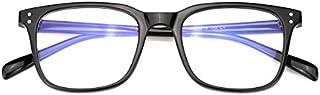 Mimoeye Classic Oversized Design Full Rimmed Blue Light Blocking Eyeglasses Non-Prescription Glasses